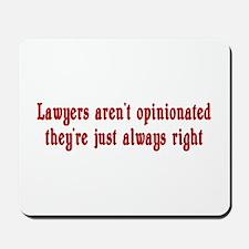 Lawyer Mousepad