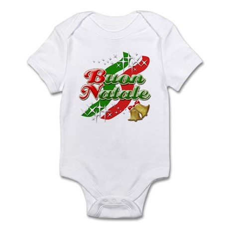 Buon Natale Italian Christmas Infant Bodysuit