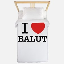 I Love BALUT Twin Duvet