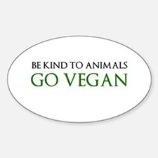Go Vegan Decal