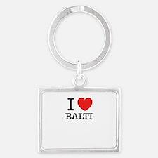 I Love BALTI Keychains