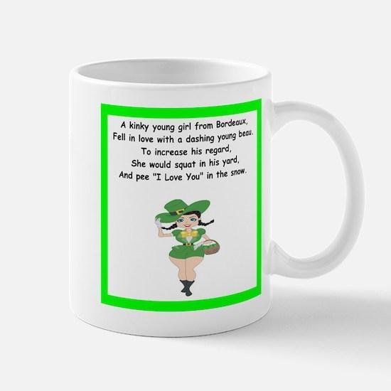 racy limerick Mugs