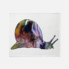 Snail Throw Blanket
