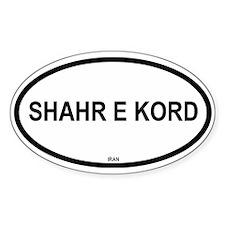 Shahr E Kord Oval Decal