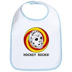 Hockey Rocks Bib