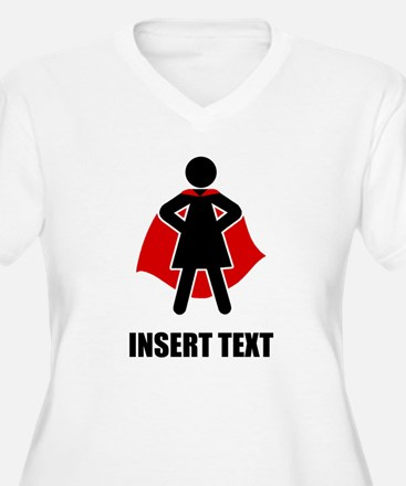 Superhero Woman P T-Shirt