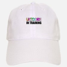 Unicorn In Training Baseball Baseball Cap