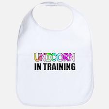 Unicorn In Training Bib