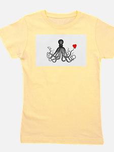 Funny Octopus Girl's Tee