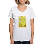 Jesus Page Women's V-Neck T-Shirt