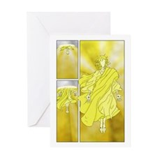 Jesus Page Greeting Card