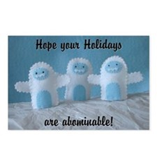 Abominable Postcards (Package of 8)