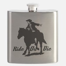 Paul Revere Ride Or Die Flask