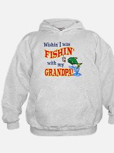 Fishing With Grandpa Hoodie