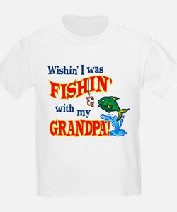Fishing With Grandpa T-Shirt