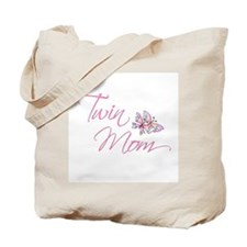 Twin Mom Tote Bag