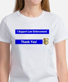 Police Officer Thank You Women's T-Shirt