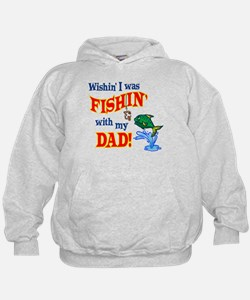 Fishing With Dad Hoodie