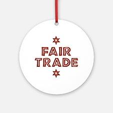 Activism - Fair Trade Ornament (Round)