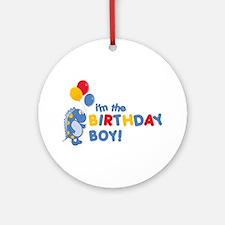 the birthday boy Ornament (Round)