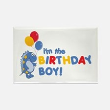 the birthday boy Rectangle Magnet