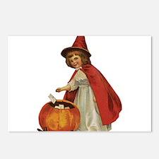 Halloween 48 Postcards (Package of 8)