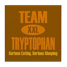 Team Tryptophan Tile Coaster