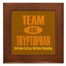 Team Tryptophan Framed Tile