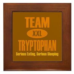 Team Tryptophan Framed Tile