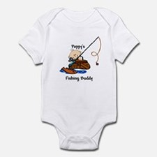 Poppy's Fishing Buddy Infant Bodysuit