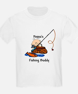 Poppa's Fishing Buddy T-Shirt