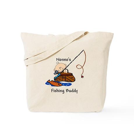 Nonno's Fishing Buddy Tote Bag