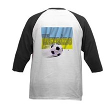 Soccer Flag Ukraine (B) Tee