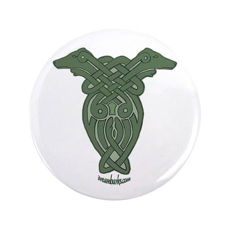 "Celtic Greyhound 3.5"" Button (100 pack)"