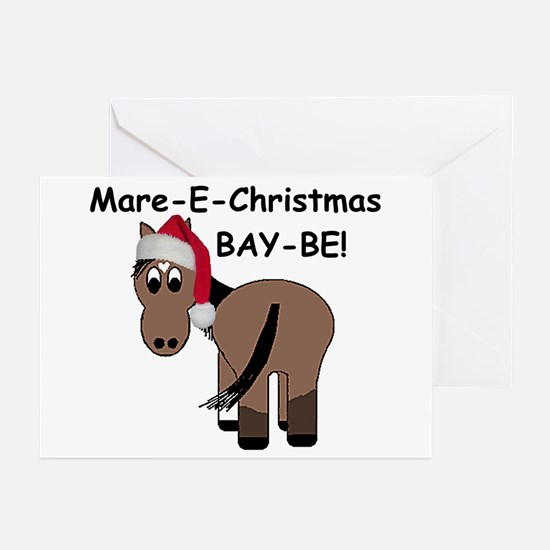 Mare-E-Christmas BAY-BE! Greeting Cards (Pk of 10)