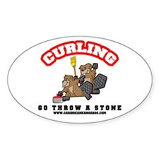 Curling Beavers Sticker!