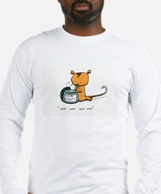 Ringo eating ANZAC Biscuits Long Sleeve T-Shirt