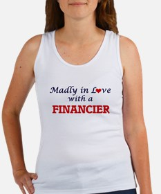 Madly in love with a Financier Tank Top