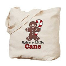 Raise Cane Gingerbread Christmas Tote Bag