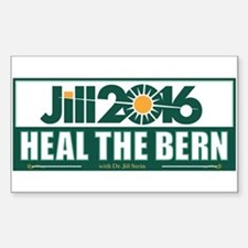 Jill Stein Heal the Bern Decal