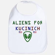 Aliens for Kucinich Bib