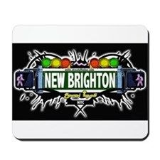 New Brighton (Black) Mousepad