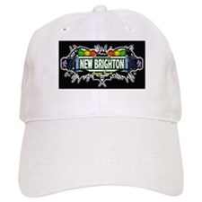 New Brighton (Black) Baseball Cap