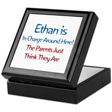 Ethan Is In Charge Keepsake Box