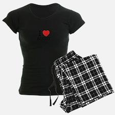 I Love AUDIT Pajamas