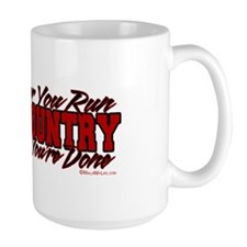 The Faster You Run, The Faster You're Done Mug
