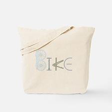 Bike Word from Bike Parts Tote Bag