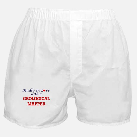 Madly in love with a Geological Mappe Boxer Shorts