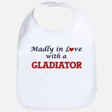 Madly in love with a Gladiator Bib