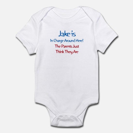 Jake Is In Charge Infant Bodysuit